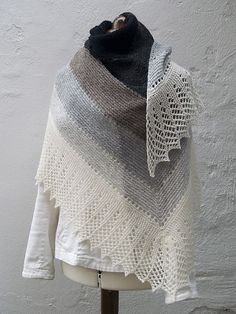 Ravelry: Transition Stash-buster Shawl pattern by Karen S. Lauger
