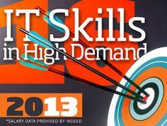 16 IT Skills in High Demand in 2013 career developmentgo, high demand, career trend, career resourc