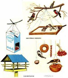 Подвесная кормушка для птиц