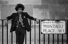 Jimi Hendrix in London 1967