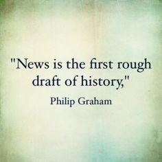 Quotable: Graham on News - Prof KRG