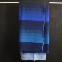 Designed by Dutch design duo Scholten and Baijings and part of their Colour plaids collection, this blanket is a contemporary take on traditional stripe. It is both elegant and avant-garde and great for use as a blanket or throw. It is crafted from a luxurious mix of merino wool and combines shades of blue for a thoroughly modern feel.