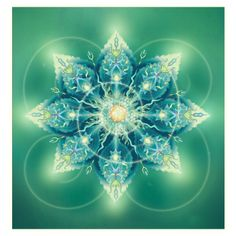 """Sacred Plant Mandala"""