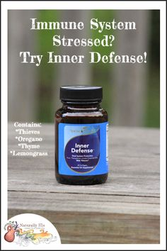 Inner Defense ~ the product that made my husband a believer in Young Living essential oils!