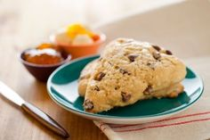 orange zest-chocolate chip vegan scones (I used coconut spread and cacao nibs)