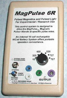 The MagPulse Magnetic Pulser