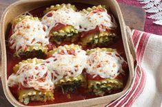 Spinach Lasagna Rolls Recipe - Kraft Recipes