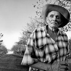 Un retrato inspirado en el llano venezolano.  Serie de Nicolás Serrano