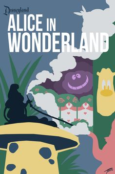 Ten Disneyland Minimalist Posters Insipired By Classic Dark Rides