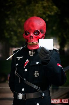 Red Skull cosplay. #Cosplay