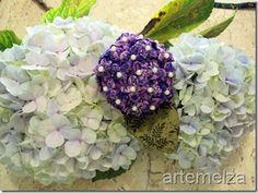 artemelza - fuxico hortensia