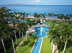 The Grand Wailea in Maui...one of my favorite vacations..