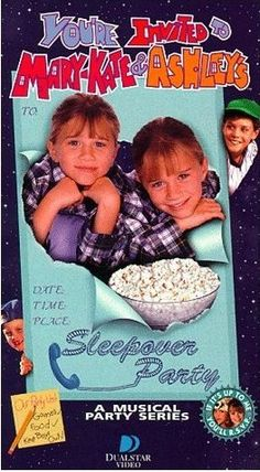 oh, and I can't forget mary kate and ashley's awesome parties!