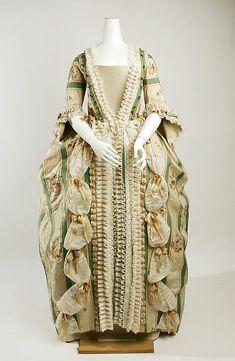 Robe a la Francaise ca. 1770