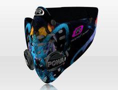 Respro® Skins™ pollution mask - GRAFFITI Pattern 1 #matchyourstyle