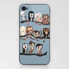 Doctor Hoo iPhone Case