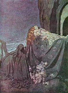 Alphonse's Room: Edmund Dulac - The Raven and other poems of Edgar Allan Poe