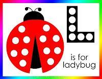 Letter L for Ladybug | Confessions of a Homeschooler