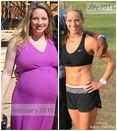 Honey We're Healthy: How I Lost the Baby Weight (55 Pounds) - not prego but there are great meal suggestions in here!