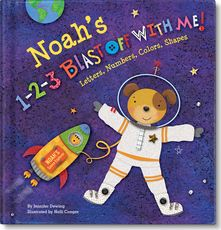 '1-2-3 Blast Off With Me' Personalized Book