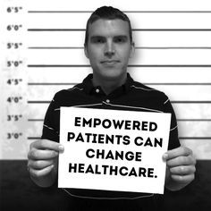 When patients have access to the tools that they need to educate themselves and don't settle for anything less than the best possible care - patients change healthcare. There is a wealth of information and support available in the online health community - but you have to take the initiative to seek the information and be willing to reach out for support. Every time you speak out about your experiences you improve yourself as a patient and Health Activist. | #mythmugshot #health #contest