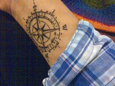 compass on the wrist