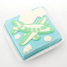 airplane birthday cake-