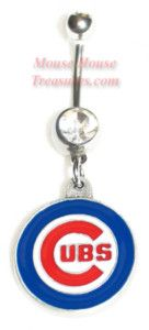 Cubs belly ring!