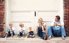 Family Photo Session   ice cream