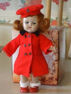 Ginny Vogue Ginny Doll Clothes Clothing Painted Lashes