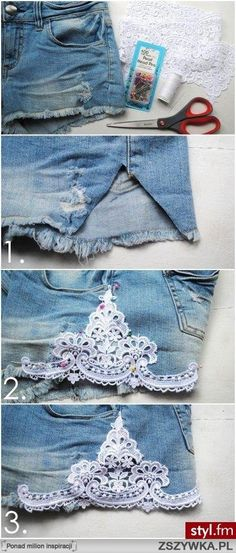 24 Stylish DIY Clothing Tutorials- great revamping old clothes into new & fun stuff!