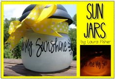 Sun Jars for the kids' rooms.
