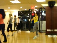 ZUMBA :)  Love this routine & this song always gets me pumped up