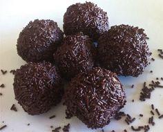 Walnut and biscuit Chocolate Truffles (Troufakia) - My Greek Dish