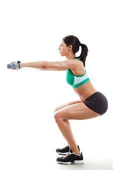 CrossFit workouts - several different exercises done in sets.