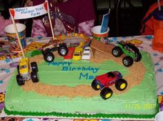 another monster truck cake