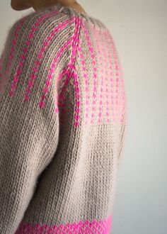 Laura's Loop: The Purl Soho Friendly Fair Isle Sweater | The Purl Bee