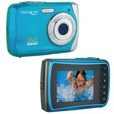 VistaQuest VQ9100B VQ-9100 12MP WP Cam Blue by VistaQuest. $52.07. VistaQuest VQ-9100 Blue-WATERPROOF UP TO 3 METERS UNDER THE WATER, DIGITAL STILL CAMERA, REMOVABLE DISK DRIVER, 12.0 MEGA PIXELS, COLOR 2.4 TFT LCD, 8X DIGITAL ZOOM, UP TO 30FPS @ VGA WITH SOUND, SD CARD UP TO 8GB, 2 X AAA BATTERY