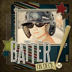 Batter on Deck - Scrapbook.com