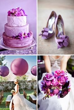 Originální Svatba by Lucie: Pantone barva roku 2014 • Radiant Orchid