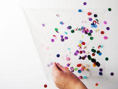 confetti book covers.