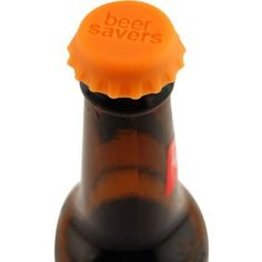 clever! reusable silicone beer toppers for keeping beer fresh