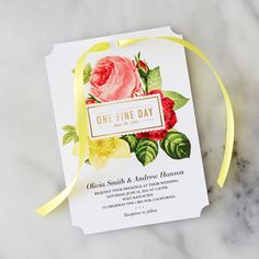 How-To: 4 Fabulous Ribbon DIYs for Wedding Invitations