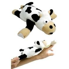 Slingshot Flying Cow Toy w/ Sound Only $4.40 Shipped! models, flingshot fli, animals, gift, fli cow, fli anim, toys, playmak, toy flingshot