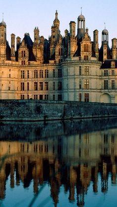 Chateau de Chambord, Loire FRANCE