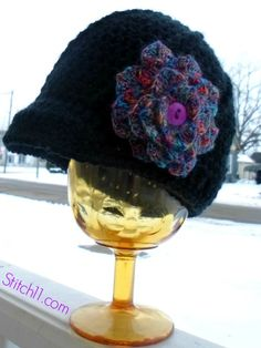 Crocodile Stitch Flower – Designed by B.Hooked Crochet