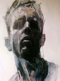 Ryan Hewett ~ Detail 1, 2012 (mixed media)
