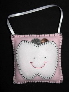 Tooth Fairy Pillow--Perfect idea!!