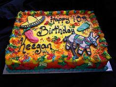 mexican fiesta cake - Google Search