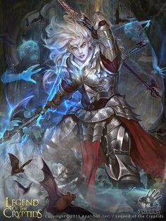Cazador de demonios evolved legend of the cryptids